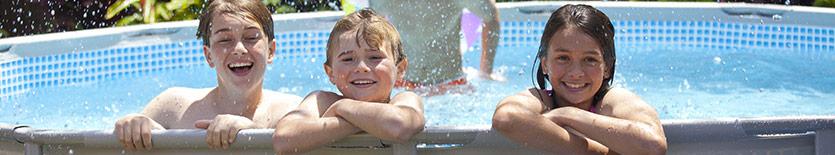 Achetez votre piscine tubulaire Intex chez Raviday Piscine