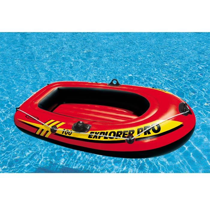 Bateau gonflable 1 place intex explorer 100 pro achat sur raviday piscine - Bateau gonflable 4 places ...