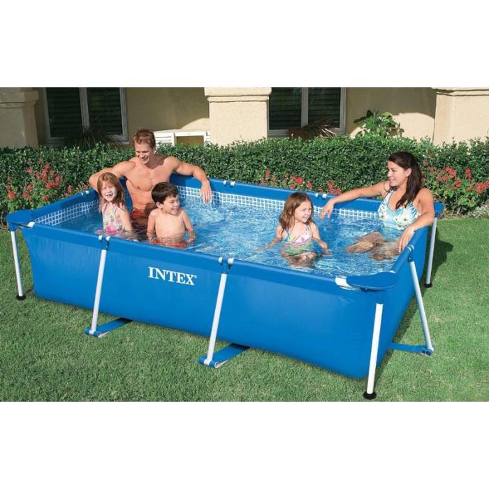 piscine tubulaire intex metalframe junior 3 x 2 x m achat sur raviday piscine. Black Bedroom Furniture Sets. Home Design Ideas