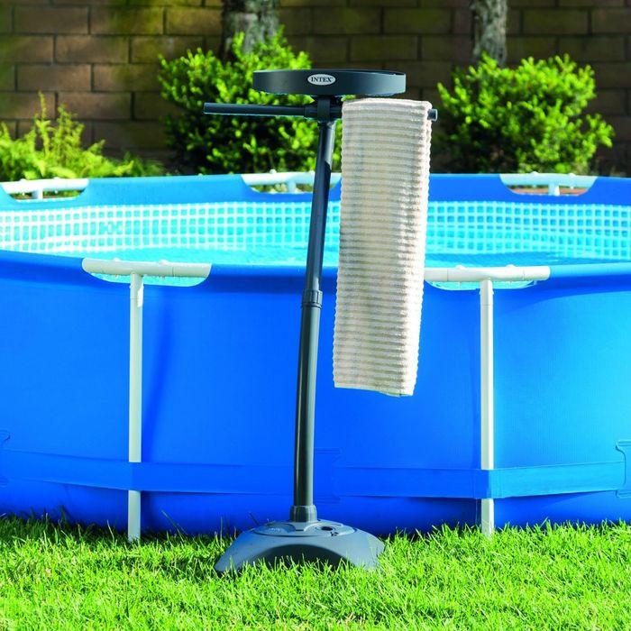 Combin porte serviettes porte gobelets pour spa et for Achat piscine
