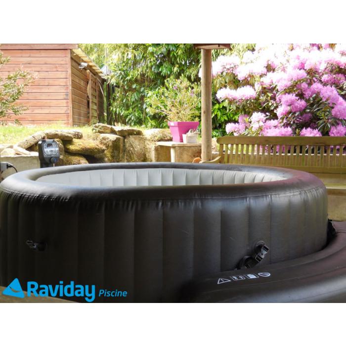spa gonflable intex pure spa jets 4 places banquette offerte. Black Bedroom Furniture Sets. Home Design Ideas