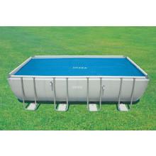 Bâche à bulles pour piscine tubulaire rectangle 5,49 x 2,74 m INTEX