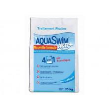 Sel piscine avec stabilisant pour électrolyse Aquaswim Acti + 4 en 1 sac 25 kg