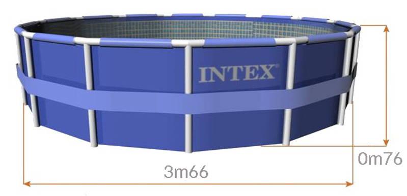 intex metal frame pool instructions