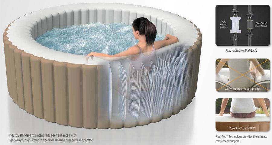 spa gonflable intex pure spa bulles 6 personnes achat sur raviday piscine. Black Bedroom Furniture Sets. Home Design Ideas