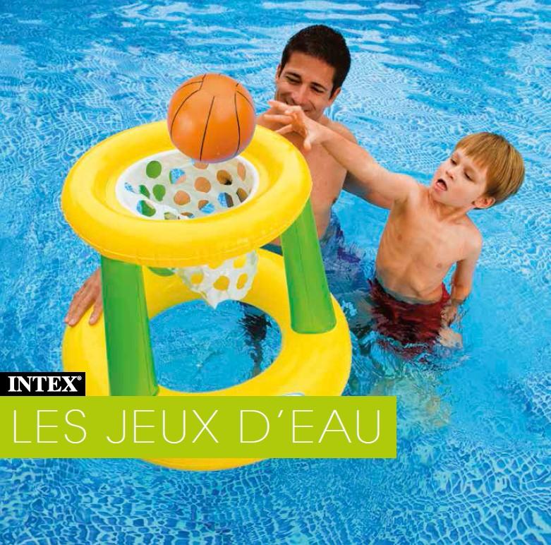 Panier de basket gonflable pour piscine intex - Traitement eau piscine intex ...