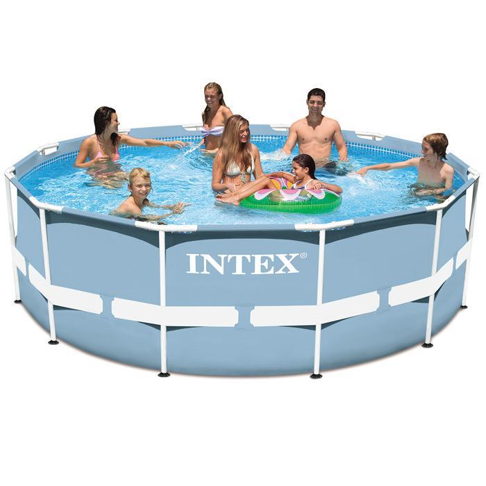piscine intex prism frame 3 66m x 1 22m piscine tubulaire ronde. Black Bedroom Furniture Sets. Home Design Ideas