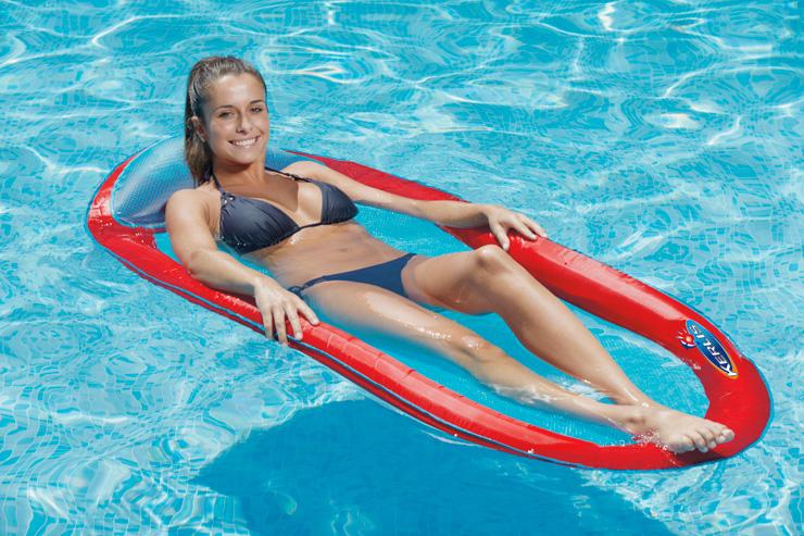 Matelas de piscine semi immergé Kerlis