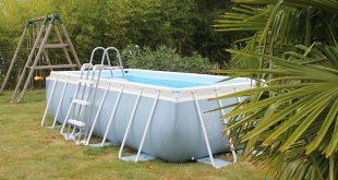 Montage d'une piscine tubulaire Intex Prism Frame