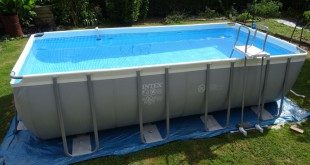Comment monter une piscine tubulaire Intex Ultra Silver?