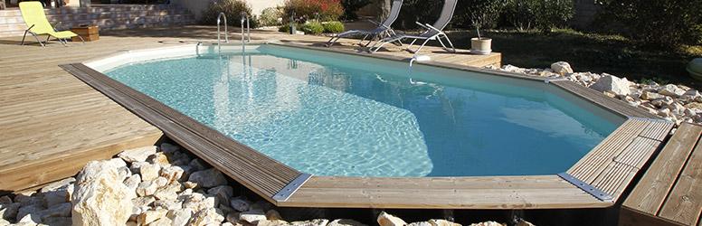 Achetez votre piscine en bois chez Raviday Piscine
