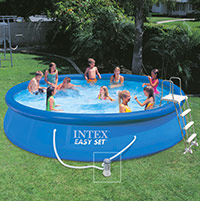 Spa intex gonflable pure spa jets et bulles 28454 ex raviday for Piscines autoportees