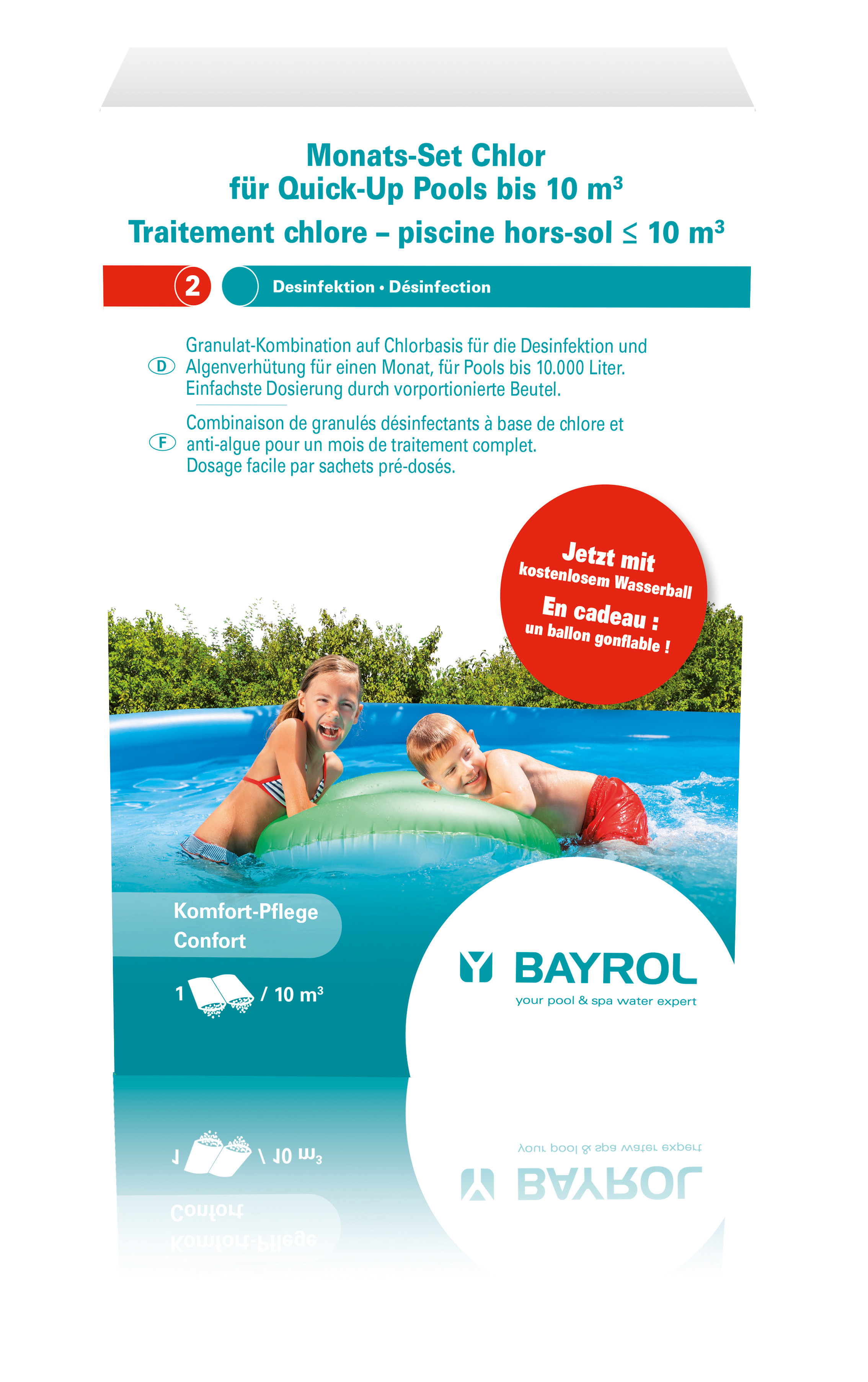 Produit bayrol for Produit piscine
