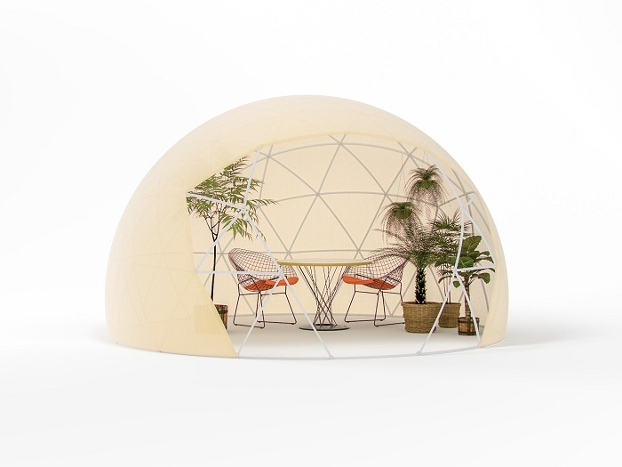 toit d'ombrage garden igloo ambiance