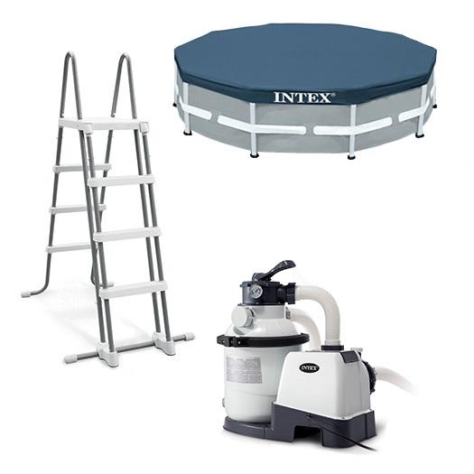 Equipements inclus avec la Piscine tubulaire ronde Intex Ultra XTR Frame 4,27 x 1,22 m