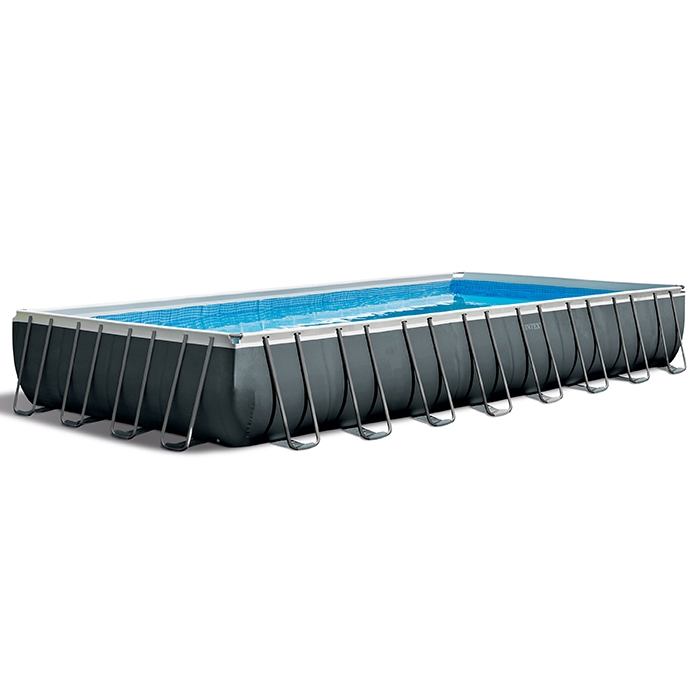 Raviday présente la Piscine tubulaire Intex Ultra XTR 9.75 x 4.88 x 1.32 m