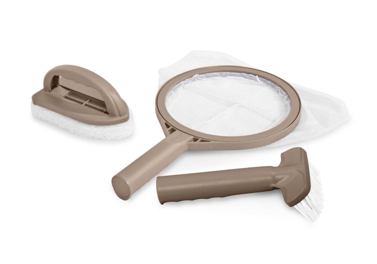 kit d 39 entretien pour spa intex accessoires pour spas gonflables spas gonflables. Black Bedroom Furniture Sets. Home Design Ideas