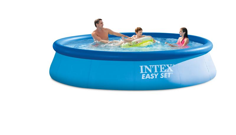 Piscine autoport e easy set intex x cm achat for Piscine easy set