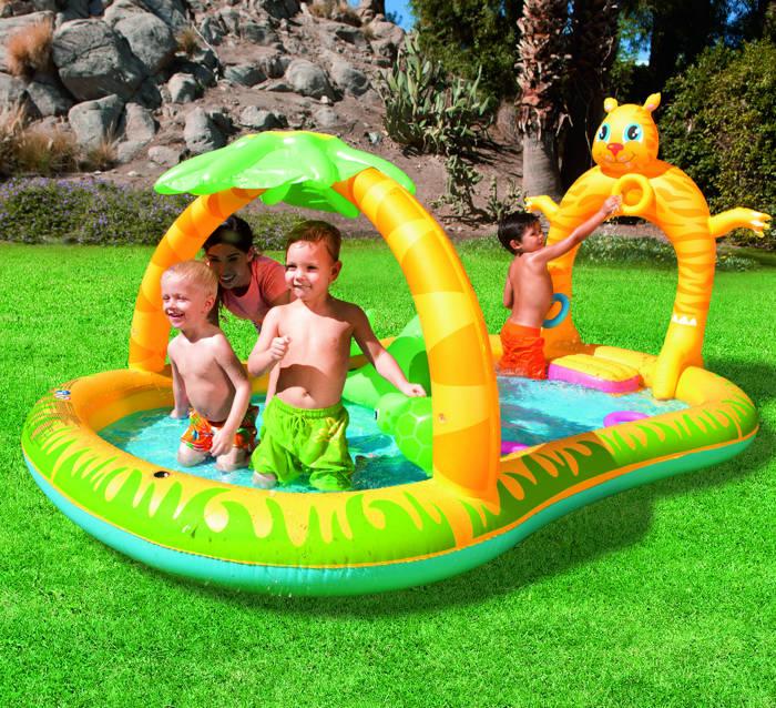 Aire de jeu gonflable bestway jungle safari raviday piscine - Raviday piscine ...