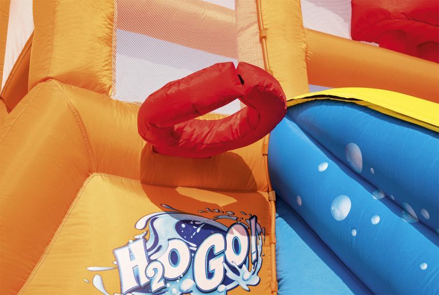 Chateau gonflable Aire de jeux Bestway Tsunami Waves H2o Go