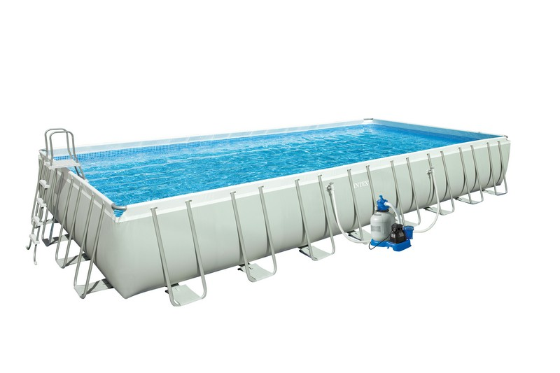 Piscine tubulaire intex ultra silver 975 x 488 x 132 cm for Piscine intex silver ultra