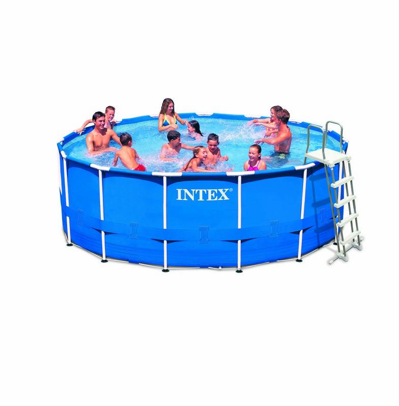 kit piscine tubulaire intex metal frame 457 x 122 chez raviday piscine. Black Bedroom Furniture Sets. Home Design Ideas