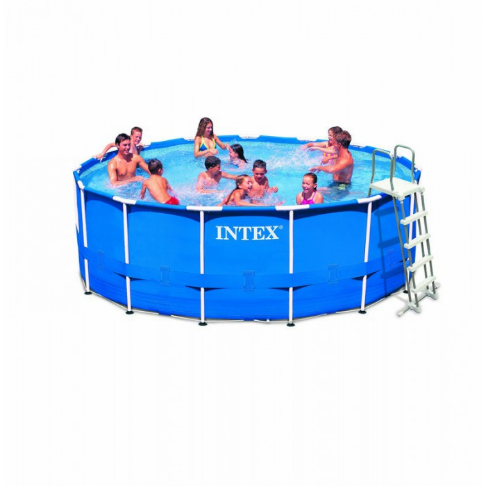 Liner tubulaire pour piscine metal frame 4 57 x 1 22 m for Liner pour piscine intex sequoia