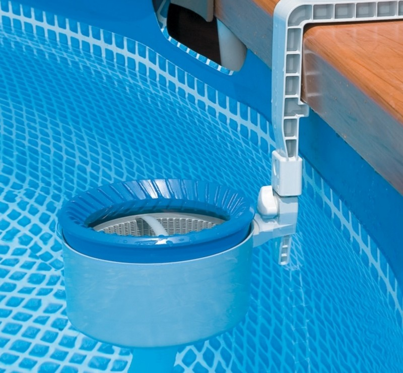 Skimmer de surface intex raviday piscine for Filtre skimmer piscine