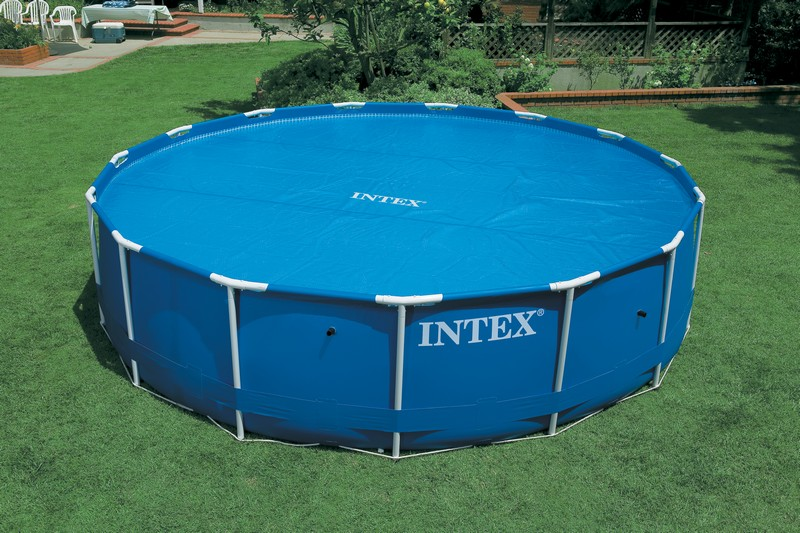 B che bulles pour piscines rondes intex m b ches for Bache piscine intex 3 66