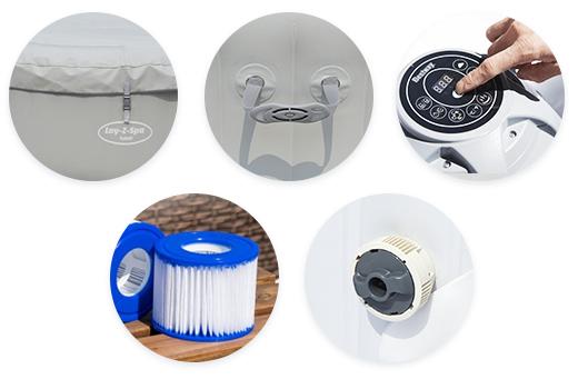 Les accessoires du spa gonflable Bestway Havana Airjet