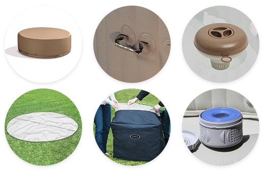 accessoires spa intex sahara 4 places