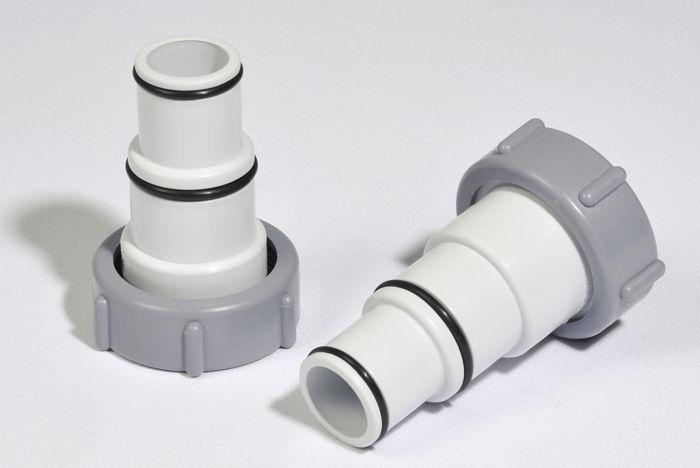 Lot de 2 adaptateurs males 32 38 mm intex raviday piscine for Vanne d arret piscine hors sol 32 38mm