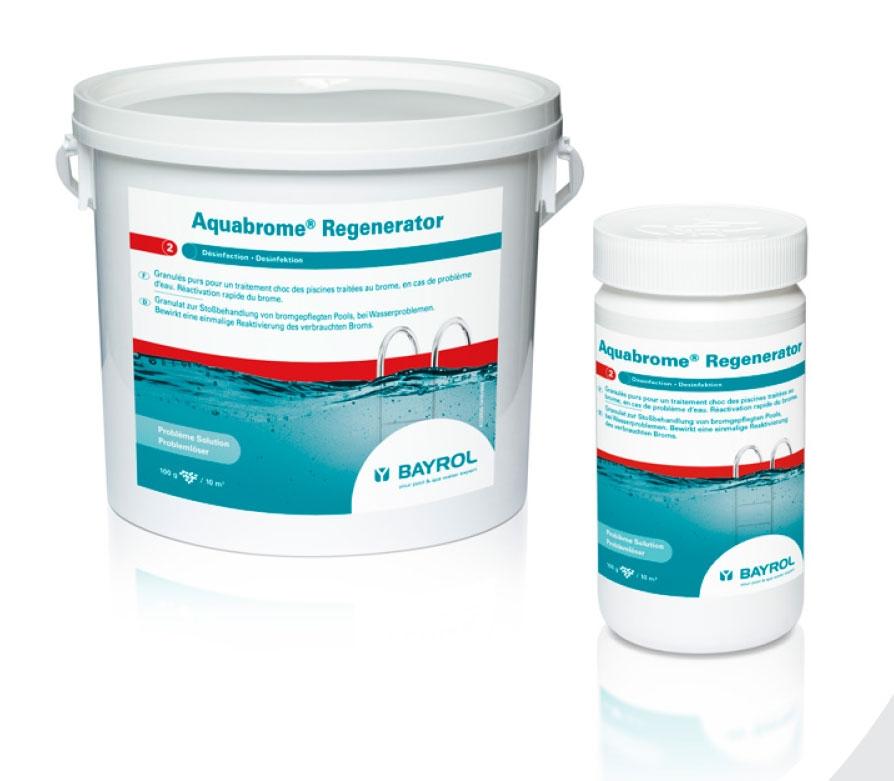 Aquabrome® Regenerator - Brome Choc pour Piscine (1,25kg ou 5kg)