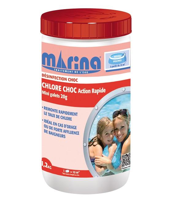 chlore choc Marina 20g