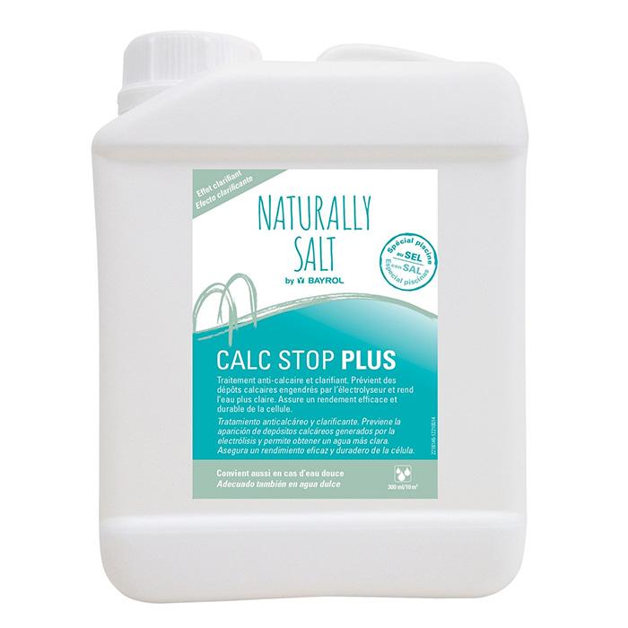 Calc stop Naturally Salt - Traitement anti calcaire pour piscine au sel
