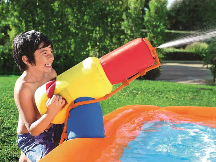 Chateau gonflable pour piscine Bestway Turbo Splash H2o Go