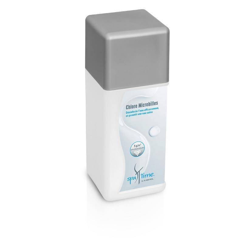 Chlore Microbilles Spa Time Bayrol 1 Kg pour l'entretien du spa