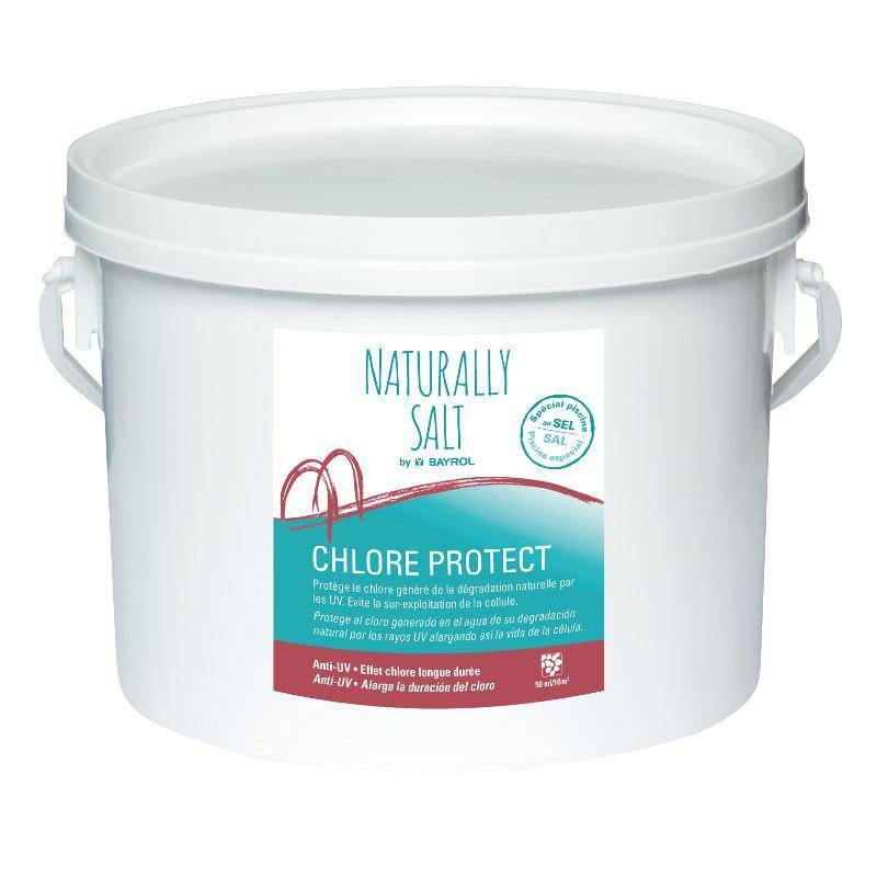 Chlore Protect Naturally Salt Bayrol 2 kg pour piscine au sel