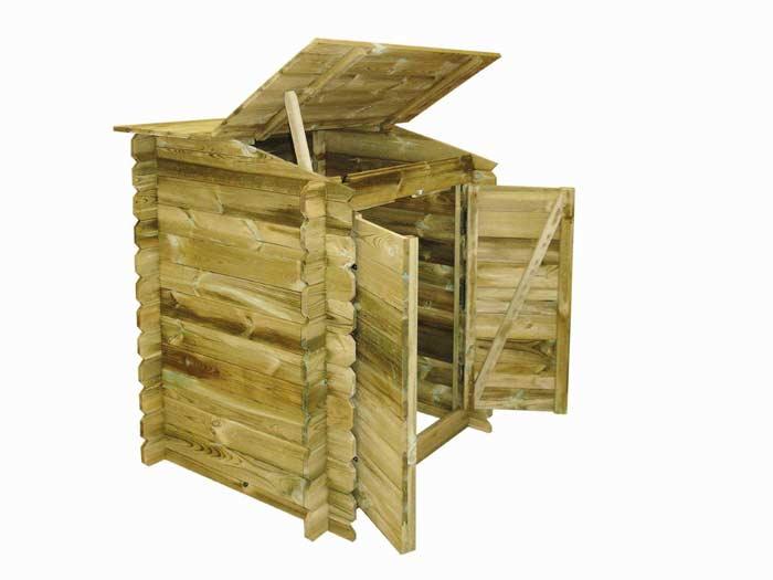 Coffre de filtration en bois classique Ubbink