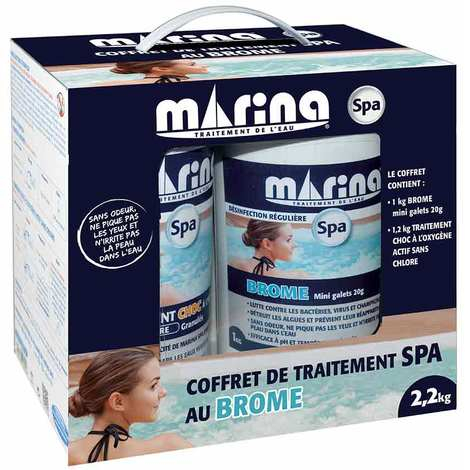 Coffret de traitement Brome Oxygene actif Marina