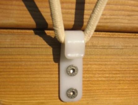 crochet allongées Ubbink bâche protection