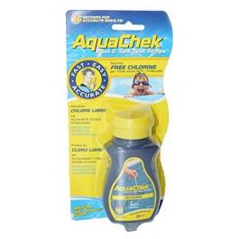 Tube de 50 bandelettes d 39 analyse aquachek pour piscines - Pastille chlore piscine gonflable ...
