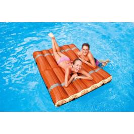 Radeau gonflable intex log jam raft for Rustine piscine gonflable