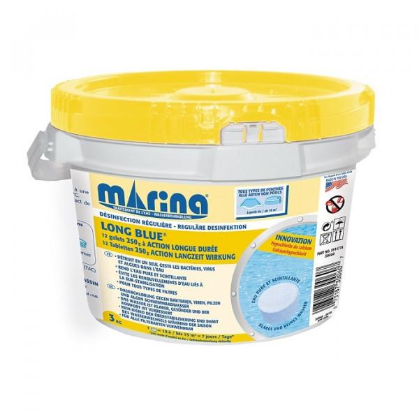 Desinfectant régulière au chlore Long Blue Marina - 3kg
