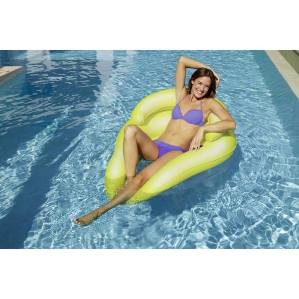 Siège gonflable de piscine fluo Kerlis