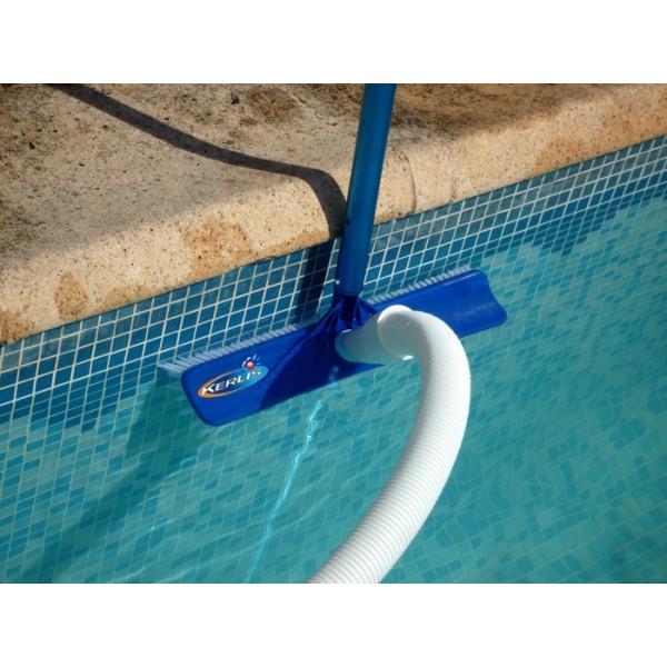 Balai arrondi 41 cm pour aspirateur de piscine Kerlis