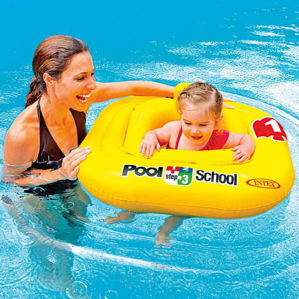 Bouée bébé culotte INTEX Pool School