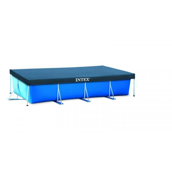 Bâche pour piscine rectangulaire 3 x 2 m Intex