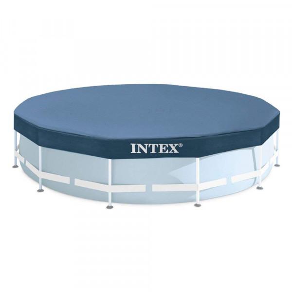 Bâche pour piscine tubulaire ronde Intex 3.66 m