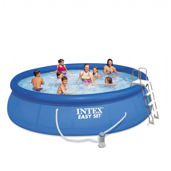 Kit piscine autoportée Intex Easy Set 4.57 x 1.07 m